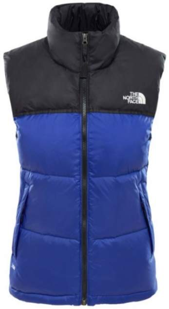 Жилет The North Face 1996 Retro Nuptse женский синий XL