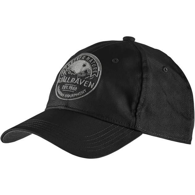 Бейсболка женская FjallRaven Forever Nature Cap, black, 57-61