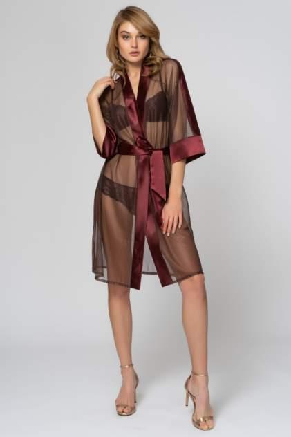 Халат женский Laete 54093 коричневый XL/2XL