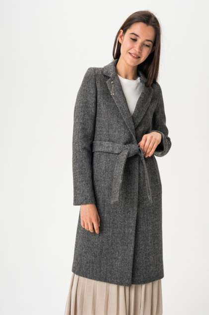 Женское пальто ElectraStyle 4-5642-303, серый