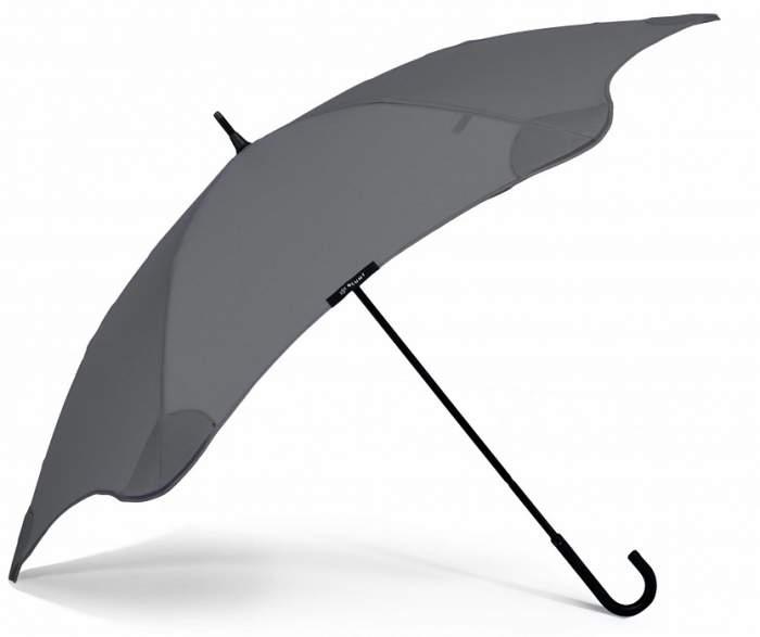 Зонт-трость мужской механический Blunt BL-LI-C серый