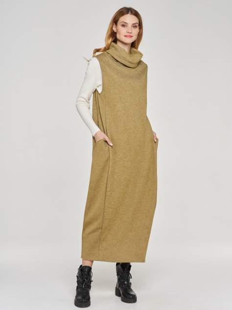 Женское платье VAY 182-3458, зеленый