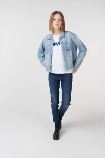 Рубашка женская Levi's 5640200000 голубая L
