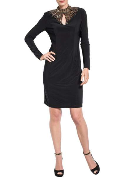 Платье женское Apart 25674 черное 44 DE