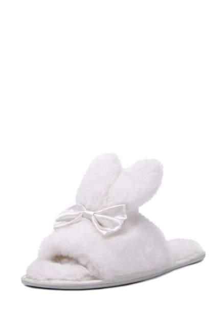 Домашние тапочки женские T.Taccardi 710018186 белые 37 RU