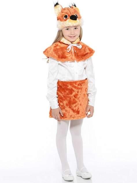 Карнавальный костюм Батик Белка, цв. коричневый р.110
