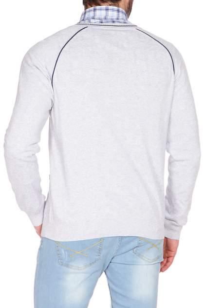 Кардиган мужской U.S. POLO Assn. G081CS0THP02I3002 111 серый 52 RU