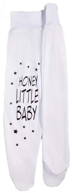 Ползунки детские Amarobaby Honey Little Baby р.68 белый