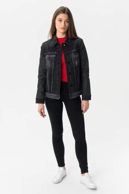 Джинсовая куртка женская Guess W93N37D3OT1HRGM серая M