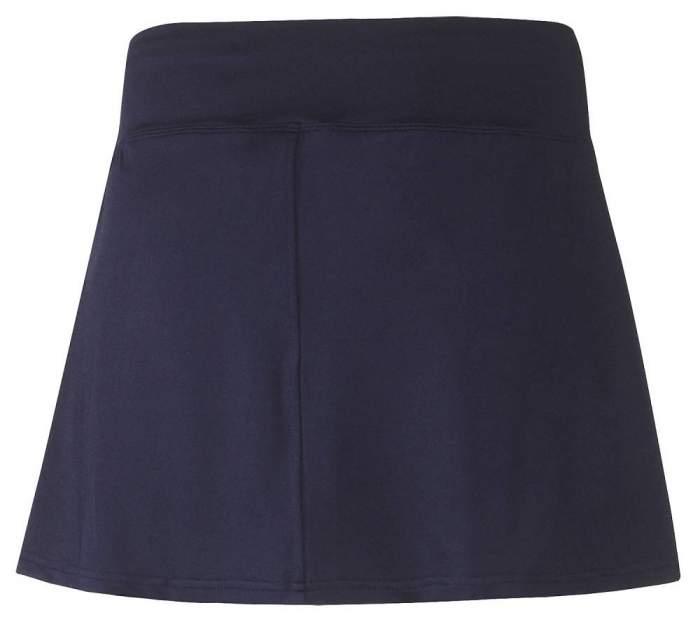 Спортивная юбка Mizuno Hex Rect Skort, темно-синяя, XL