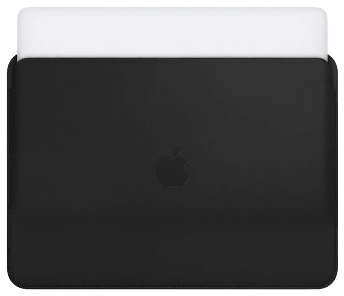 "Чехол для ноутбука 13"" Apple Macbook Pro Leather Black"