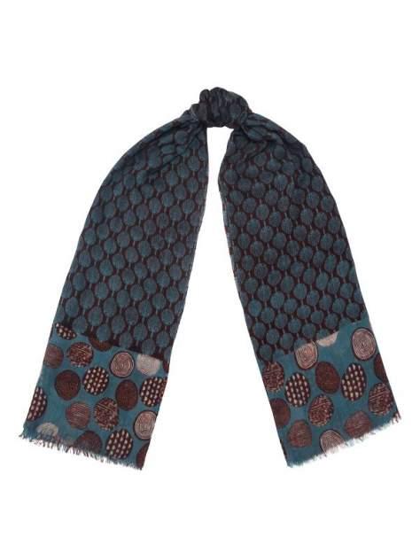 Палантин женский Eleganzza MN41-19404 синий/коричневый