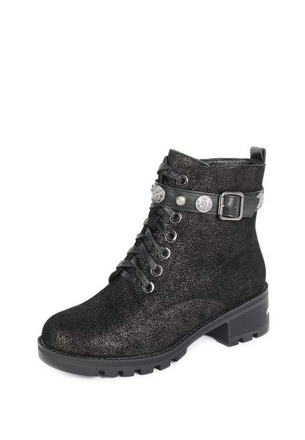 Ботинки женские Alessio Nesca 710018614, черный, серебристый