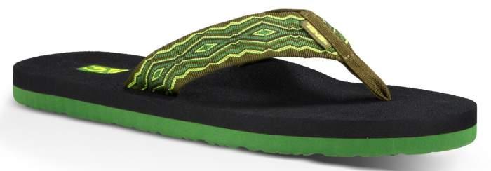 Шлепанцы мужские Teva M Mush II зеленые 11 US