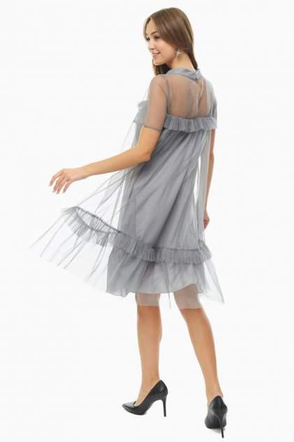 Платье женское VERA MONI BU3717d/19265/2 серое 44