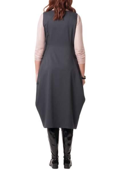 Платье женское KATA BINSKA ALBA 191022 серое 48-50 EU