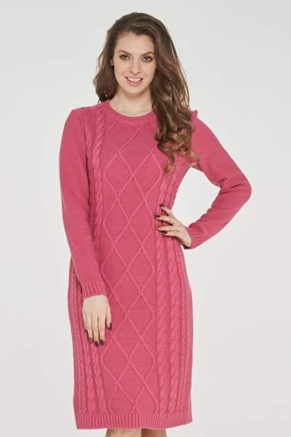 Платье женское VAY 182-2390 розовое 52 RU