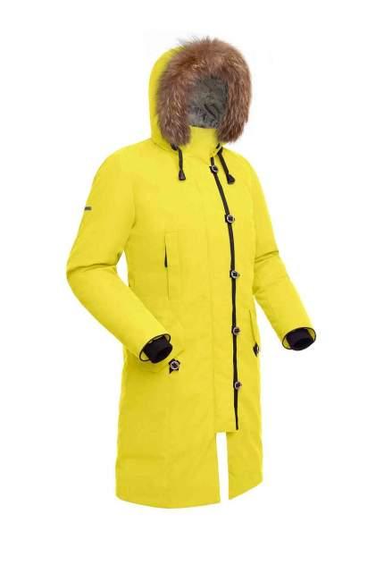 Пуховое пальто  HATANGA LADY 1464-9105-052 ЖЕЛТЫЙ 52
