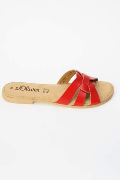 Сабо женские S.Oliver 5-5-27102-22 красные 40 RU