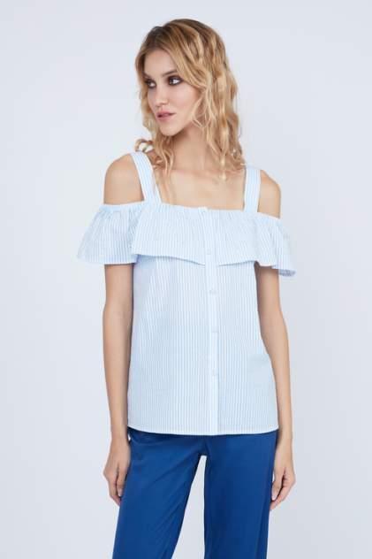 Блуза женская ZARINA 9226103303 голубая 42 RU