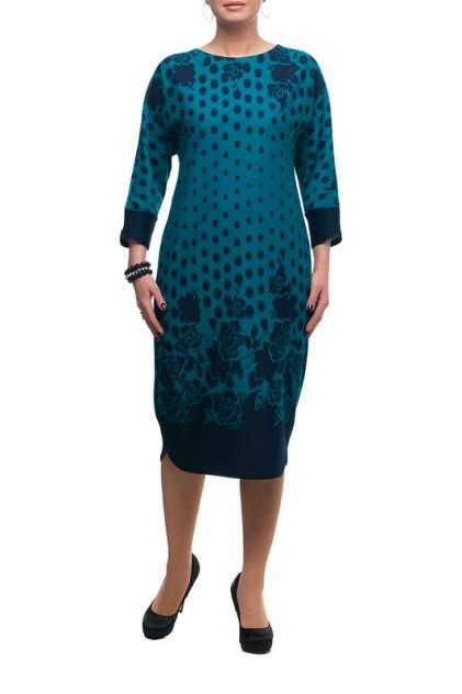 Платье женское OLSI 1705033_2V зеленое 68 RU