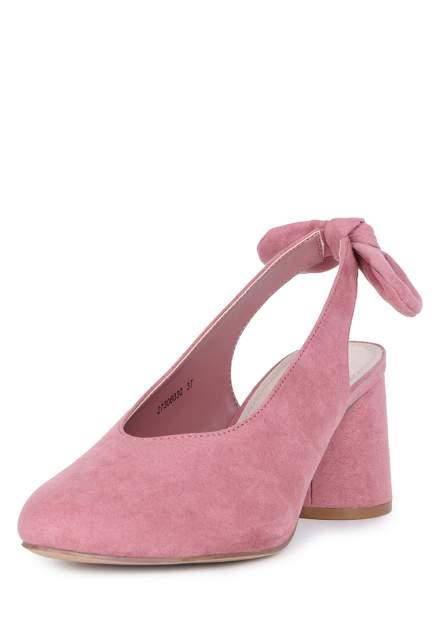 Туфли женские T.Taccardi 710018165 розовые 37 RU