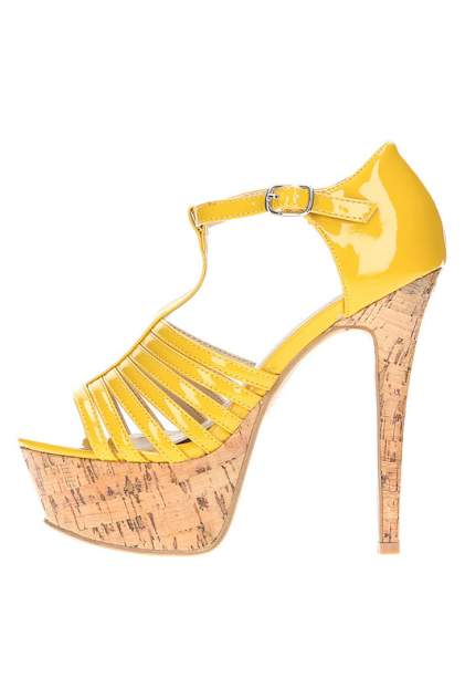 Босоножки женские KRIZIA POI KPSC97T05 желтые 41 RU