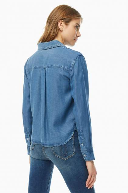Рубашка женская Calvin Klein Jeans J20J212887.0G80 синяя L