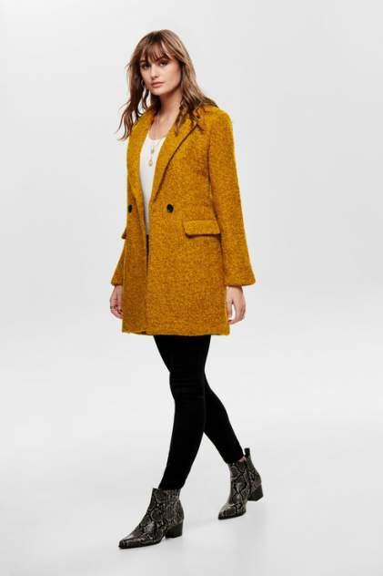 Пальто женское ONLY 15180902 оранжевое M