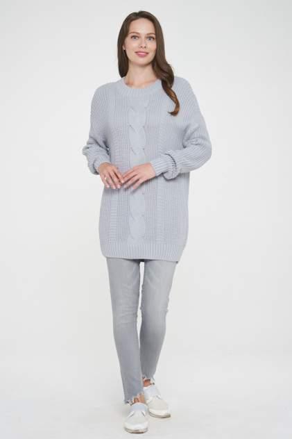 Свитер женский VAY 192-4009 серый 52 RU