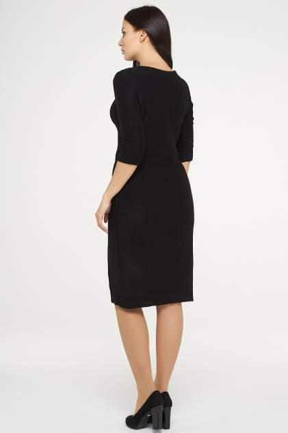 Платье женское VAY 182-2386 черное 48 RU