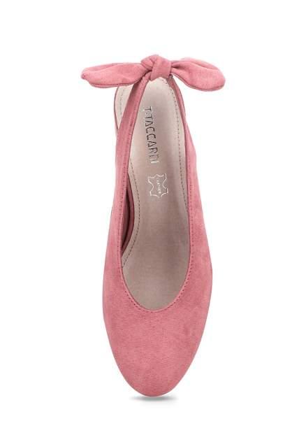 Туфли женские T.Taccardi 710018741 розовые 39 RU