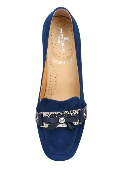 Туфли женские Pierre Cardin 008067O0 синие 38 RU