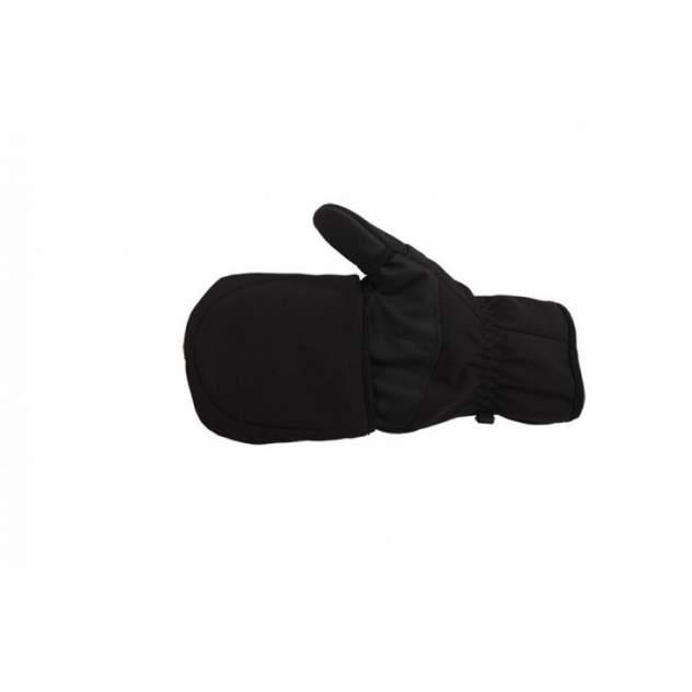 Перчатки-варежки мужские Norfin Softshell, черные, XL