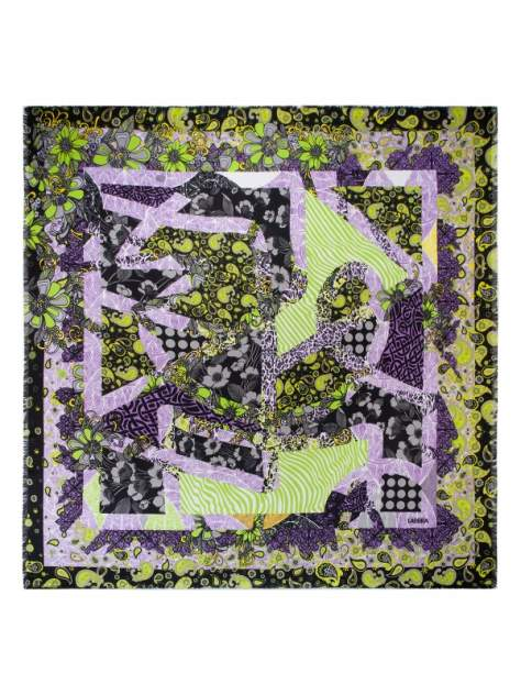 Платок женский Labbra LSZ33-518 зеленый