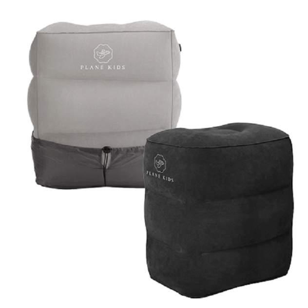 Подушка-кроватка для путешествий PLANE KIDS черная