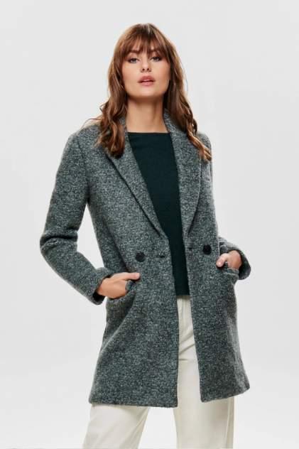 Пальто женское ONLY 15180902 зеленое M