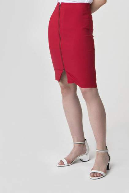 Юбка женская ZARINA 8225218205070 красная 42 RU