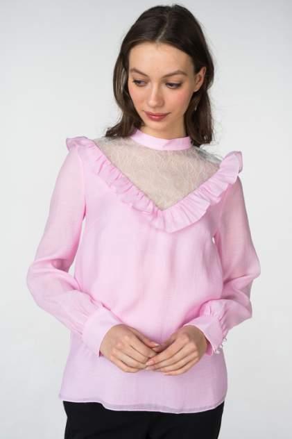 Блуза женская T-Skirt AW18-05-0558-FS розовая 42 RU