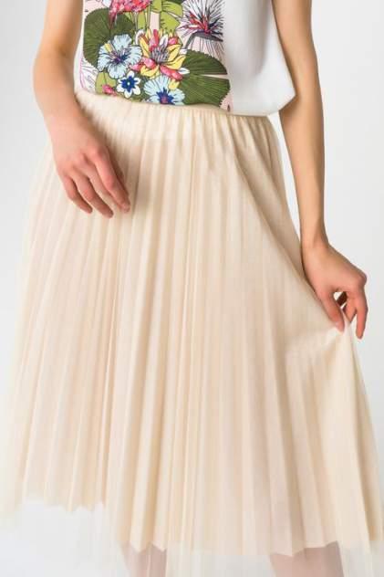 Юбка женская Fashion Confession 5464 бежевая ONE SIZE