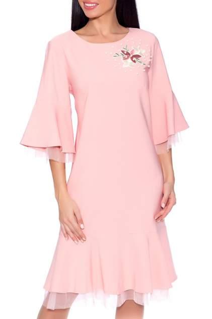 Платье женское EMANSIPE 1750249 розовое 54 RU