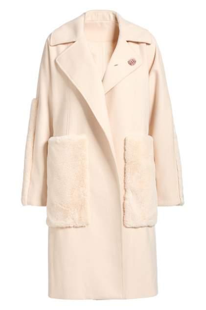 Пальто женское Apart 75043 бежевое 38 DE