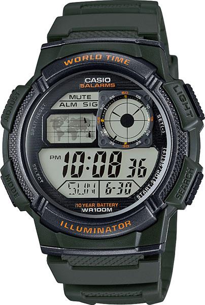 Наручные часы электронные мужские Casio Illuminator Collection AE-1000W-3A