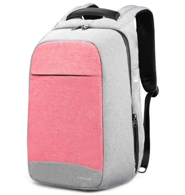 Рюкзак Tigernu T-B3335 розовый/серый 20 л