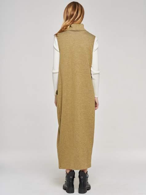Платье женское VAY 182-3458 зеленое 56 RU