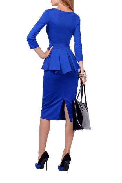 Платье женское FRANCESCA LUCINI F0722-8 синее 42 RU