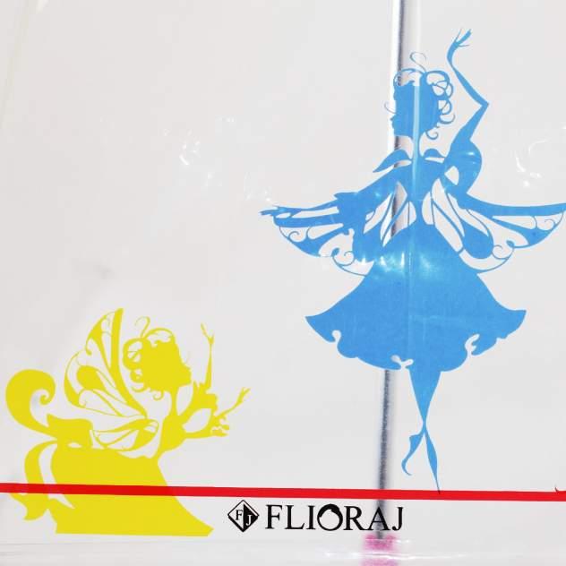 Зонт-трость женский механический Flioraj 051204 FJ белый