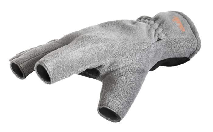 Перчатки-варежки мужские Norfin Point, серые/черные, L