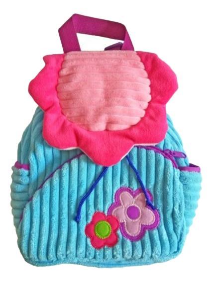 Рюкзак детский Shantou Gepai полянка розово голубой STA1473-1
