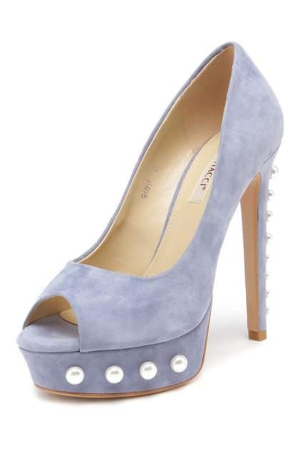 Туфли женские Vitacci 94867 голубые 38 RU